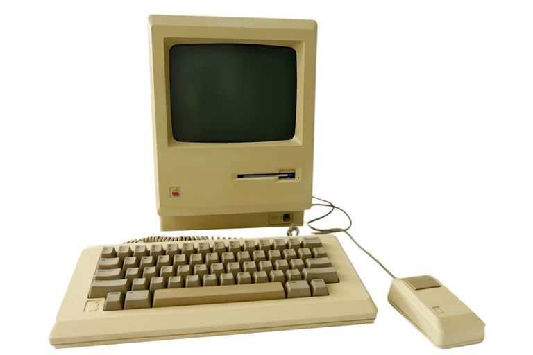 La primera Apple Mac tenía un monitor blanco y negro de 9 pulgadas