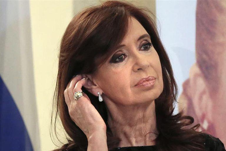 La expresidenta Cristina Kirchner