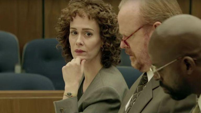 Sarah Paulson como Marcia Clark en American Crime Story