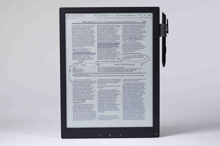 El Sony Digital Paper tiene una pantalla de tinta electrónica de 13,3 pulgadas