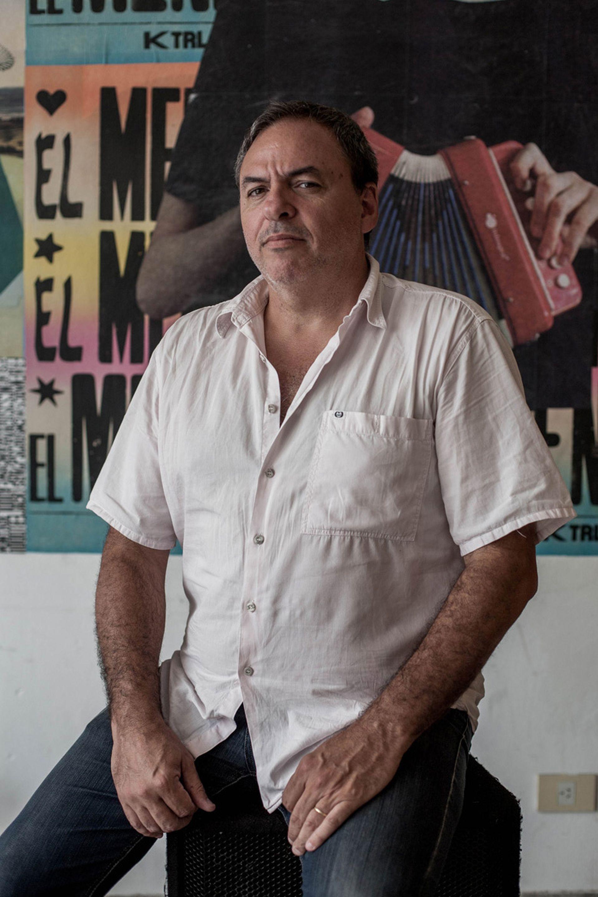 El publicista Gonzalo Vidal Meyrelles.