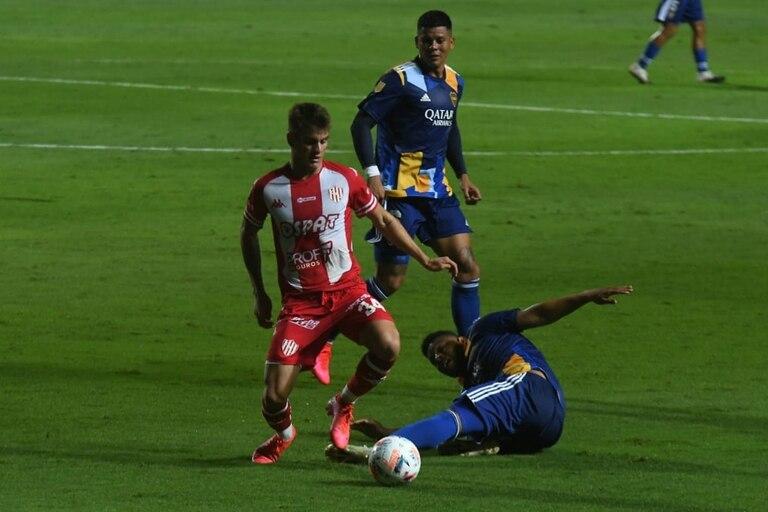 Por el piso: Boca no jugó bien y pagó con una derrota que lo hace retroceder en la tabla