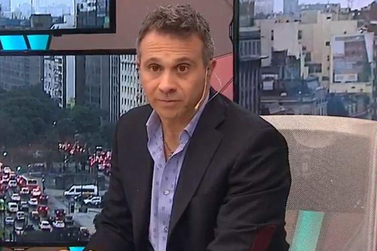 """Lapegüe y su mensaje para Sergio Gendler: """"Pocos tan generosos como vos"""""""