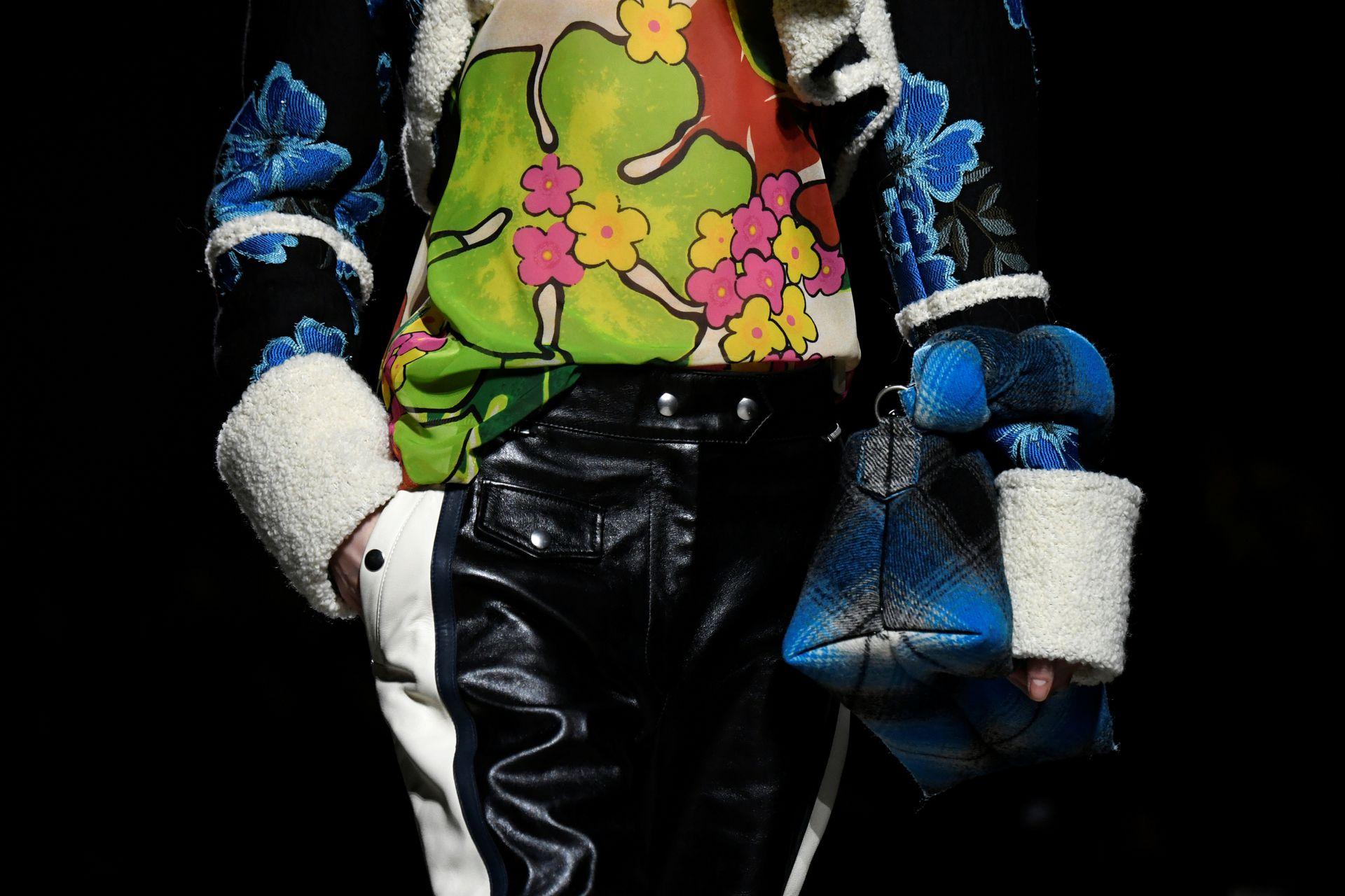 Colección de Dries Van Noten, en París Fashion Week