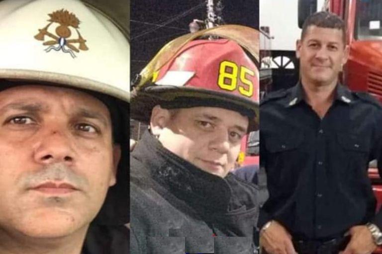 La emotiva despedida de los tres bomberos fallecidos en un trágico incendio