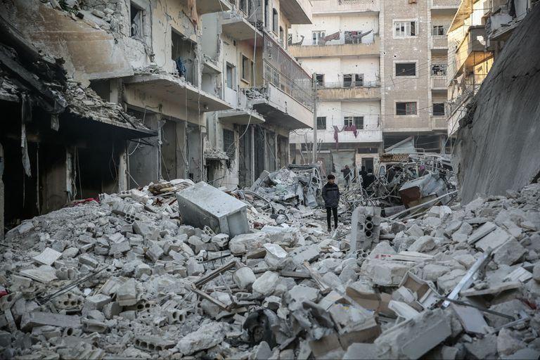 La guerra sin fin: medio millón de desplazados en los dos últimos meses en Siria