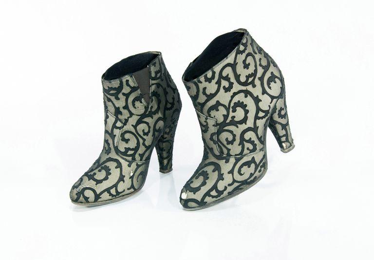 Estos zapatos fueron usados por Prince en la película Under the Cherry Moon