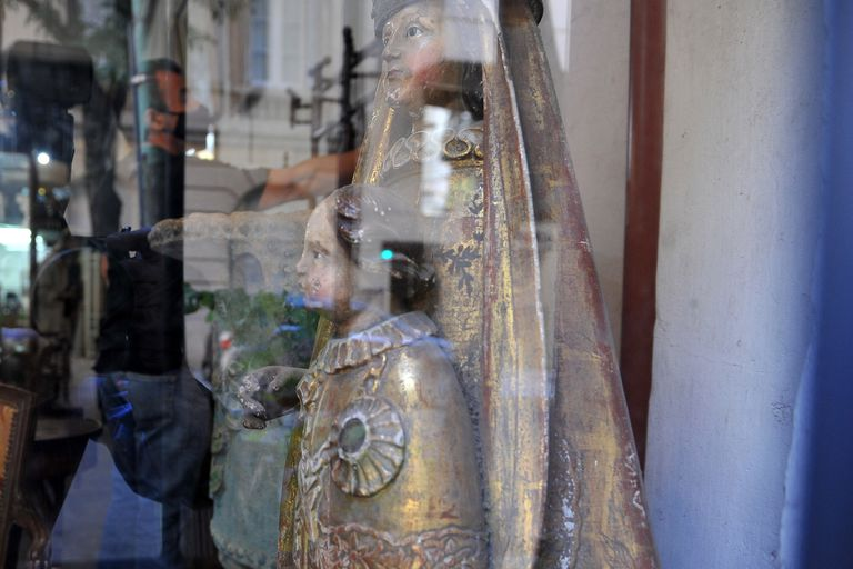 Los objetos fueron casi todos vendidos o están siendo devueltos a sus dueños originales