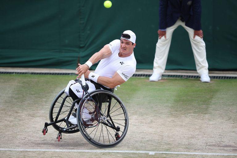 El argentino Gustavo Fernández, campeón en Wimbledon 2019, cayó en su camino hacia la defensa del trofeo.