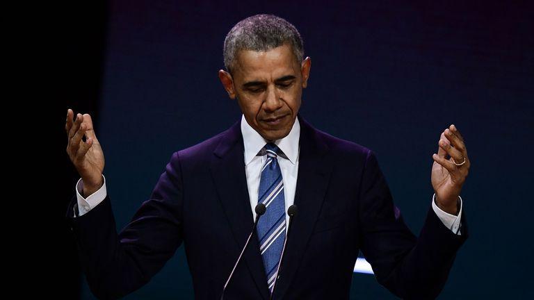 Barack Obama, rey de Twitter: publicó el mensaje más popular de 2017