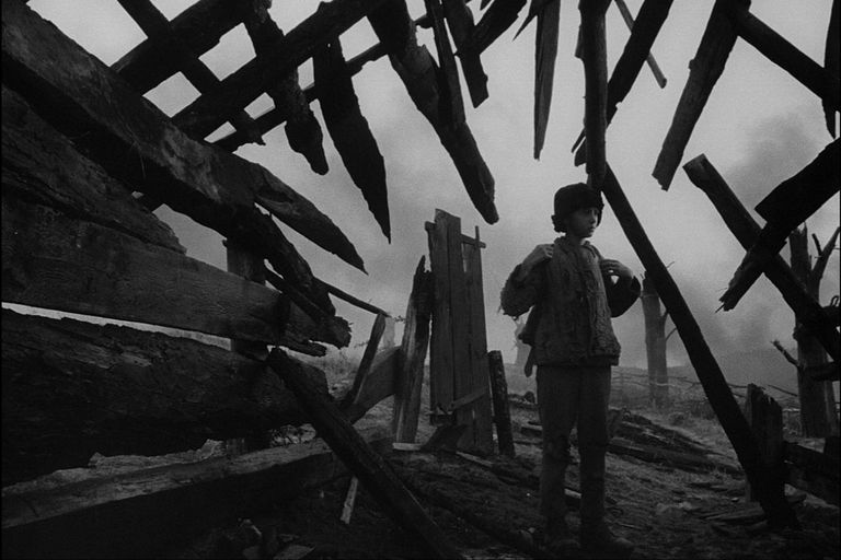 La infancia de Iván (1962), de Andrei Tarkovski