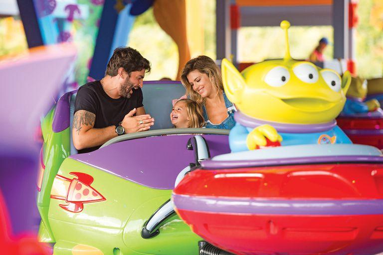 Las fotos de Mery del Cerro, Meme Bouquet y su hija Mila en Disney