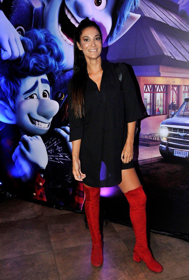 Silvina Escudero y unas bucaneras rojas que se llevaron todas las miradas