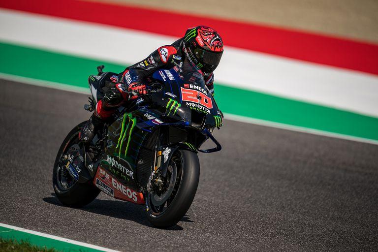 En Mugello, el francés Fabio Quartararo (Yamaha) consiguió su cuarta pole position consecutiva; largará primero en el Gran Premio de Italia.