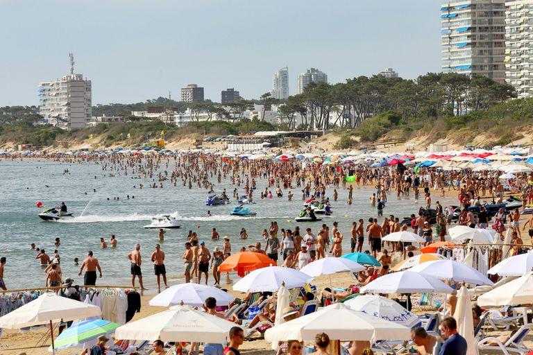Punta del Este, uno de los balnearios uruguayos preferidos por los argentinos