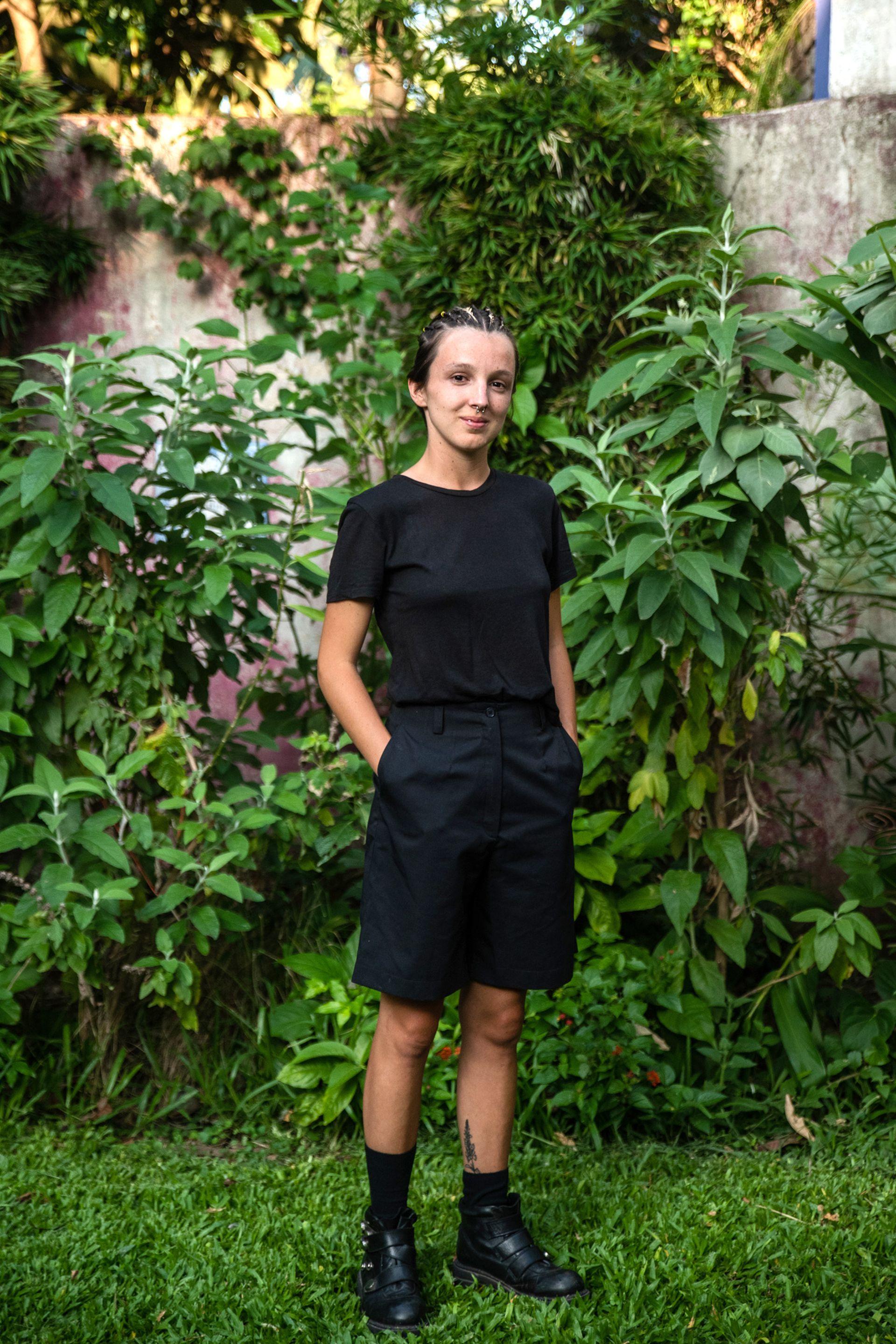 Candela Thays es la quinta generación de su familia en dedicarse al paisajismo