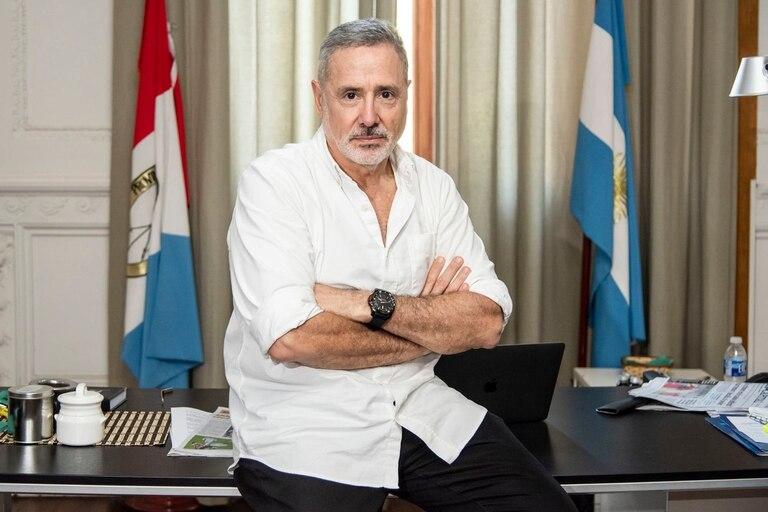 El ministro de Seguridad, Marcelo Saín, quedó en el blanco de las críticas de la oposición.