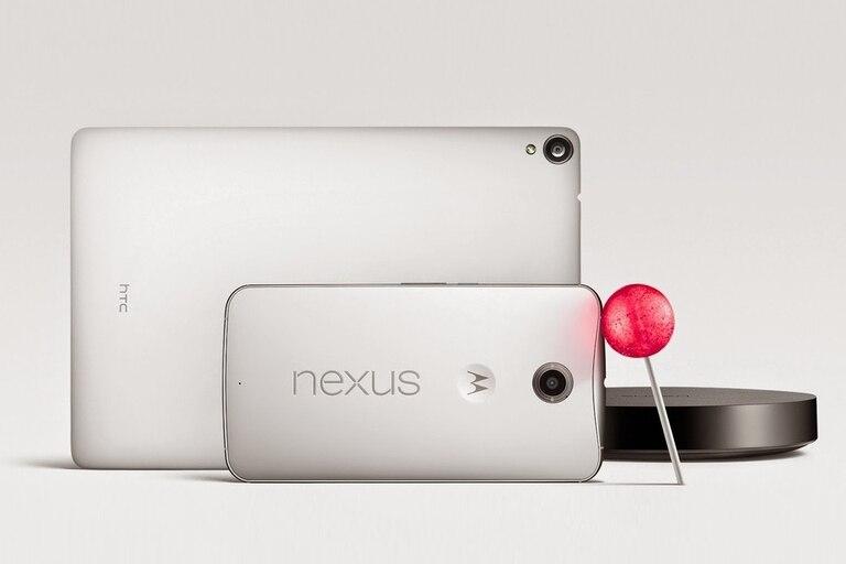 Google presentó los nuevos Nexus 6, Nexus 9 y Nexus Player junto con la nueva versión de Android
