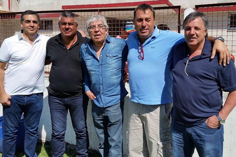 Moyano y Tapia en el amistoso de hoy entre el Rojo y Barracas Central