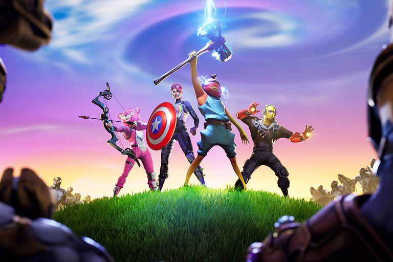 Avengers: Endgame vuelve a Fortnite en un modo de tiempo limitado