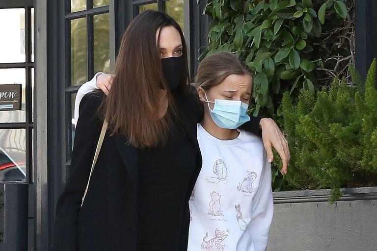 Jolie se alejó de la dirección para estar más tiempo con sus hijos