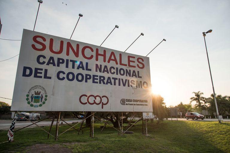 La cooperativa láctea SanCor tiene sede en Sunchales