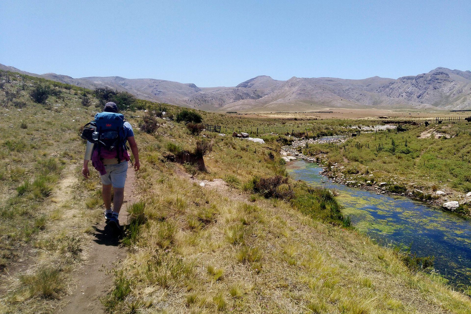 Sierra de la Ventana. Exigente ascenso al cerro Tres Picos