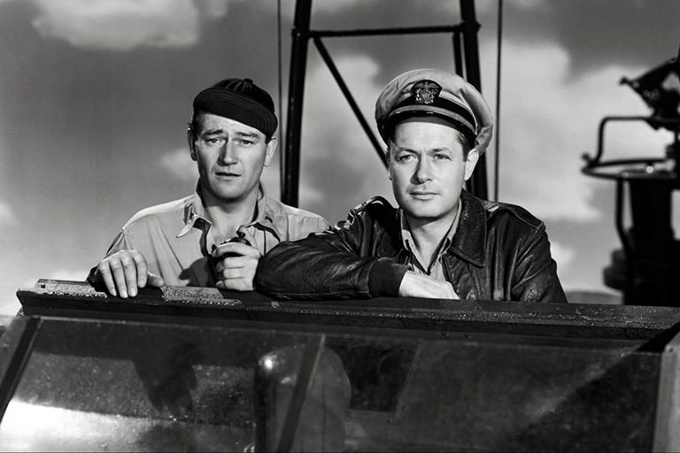 Fuimos los sacrificados (1945), film sobre la espera en el teatro del Pacífico por el cual John Ford tuvo conflictos con el ejército de su país