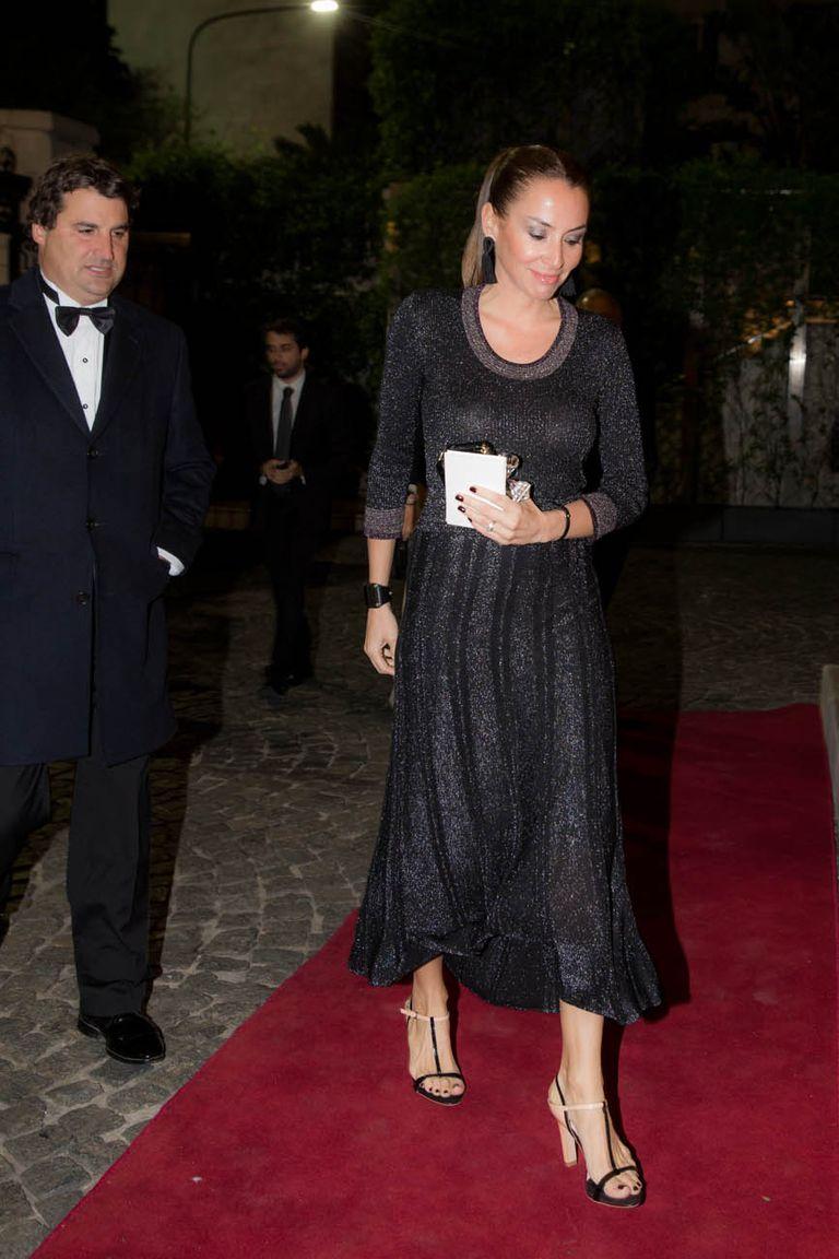 Maximo Petracchi y su mujer, Anita