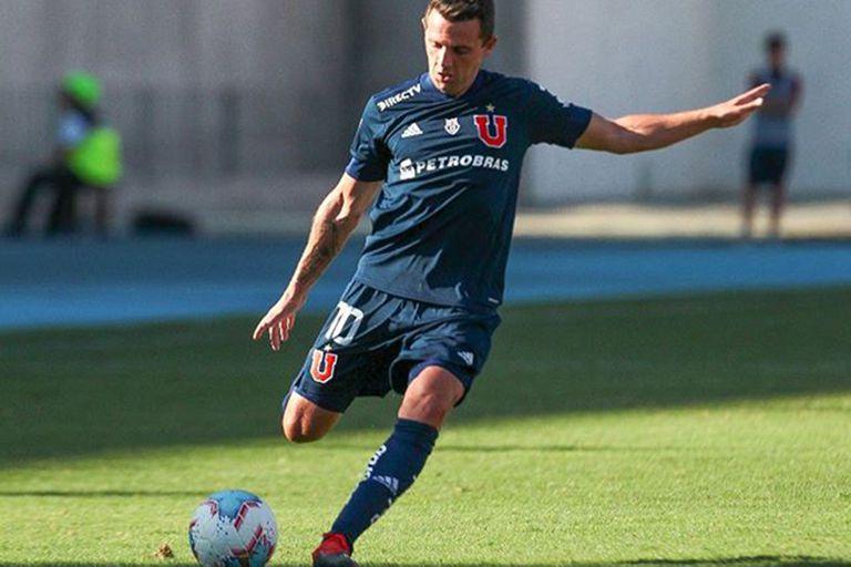 Walter Montillo jugó los últimos años de su carrera en Universidad de Chile