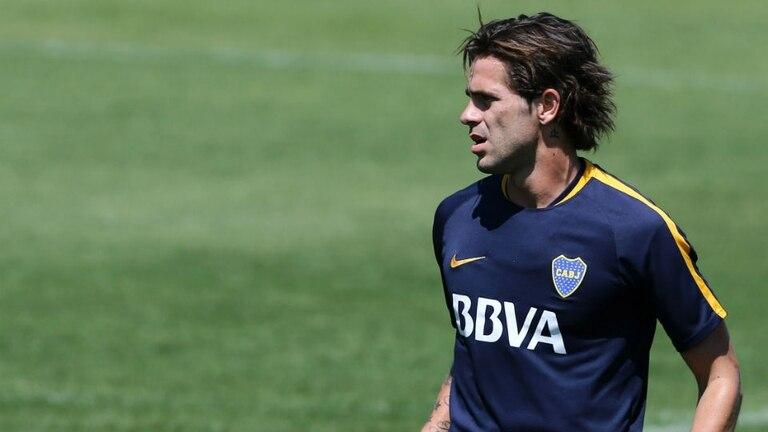 Fernando Gago vuelve a jugar oficialmente