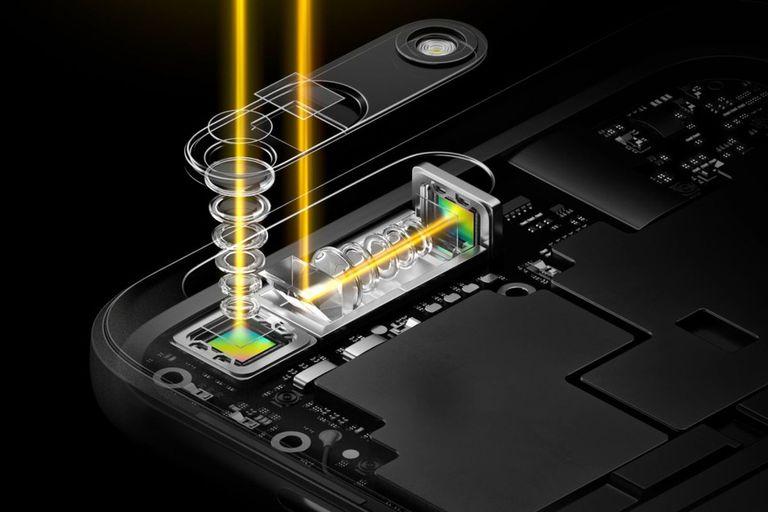 El sistema tipo periscopio con el que Oppo logra ofrecer una cámara con zoom óptico sin cambiar el grosor del celular