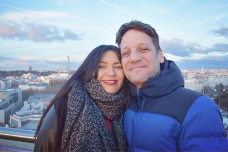 Rodrigo de la Serna y Ludmila Romero fueron padres