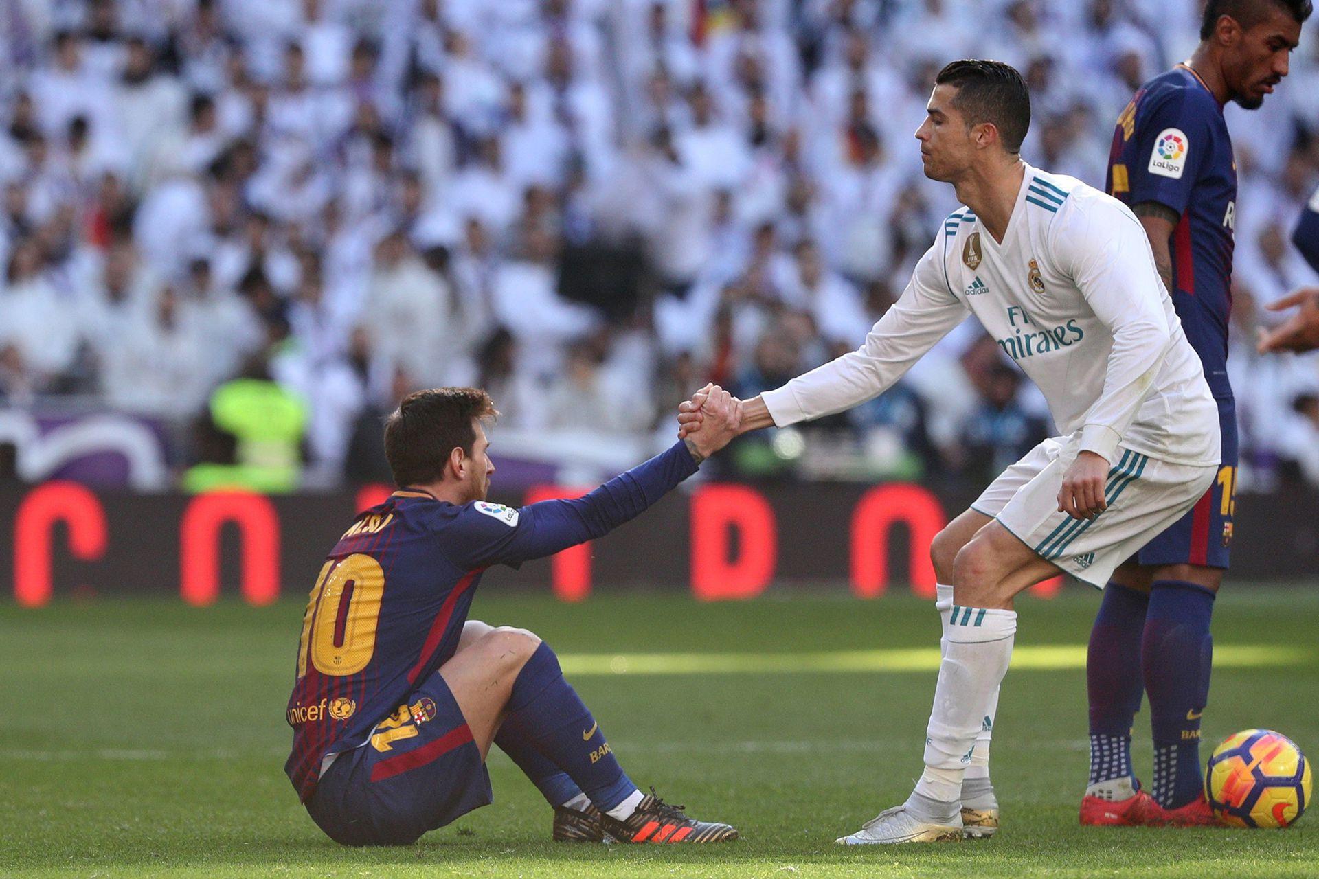 Messi y Cristiano se enfrentaron en 35 ocasiones. Leo ganó 16 y marcó 22 goles contra 10 y 19 tantos del portugués. Igualaron en los 9 restantes