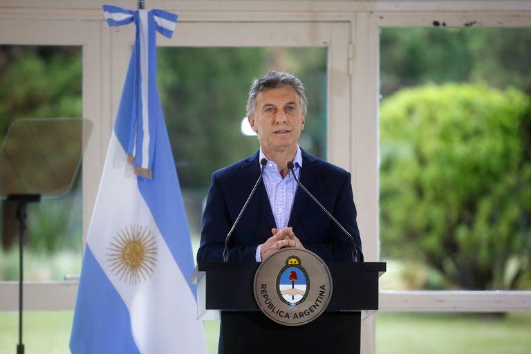 Macri brindó una conferencia de prensa, donde informó una serie de medidas