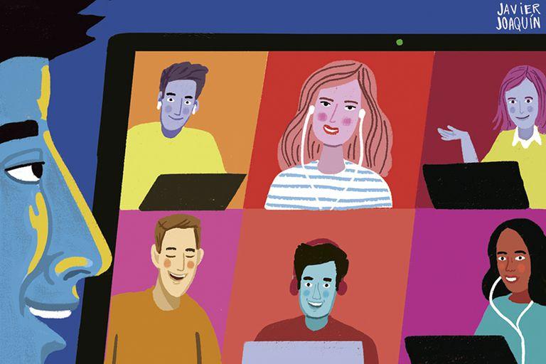 Solos, pero acompañados: estudiar en grupo de forma virtual