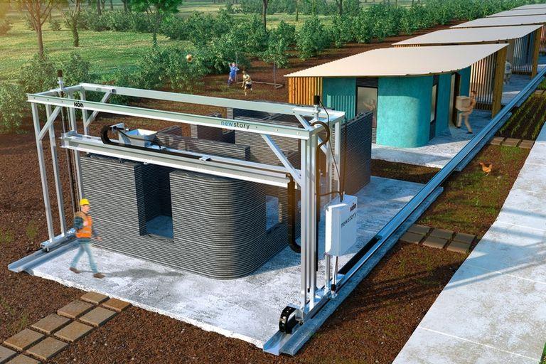 Casa impresa: en La Plata desarrollan una mega impresora 3D para hacer viviendas