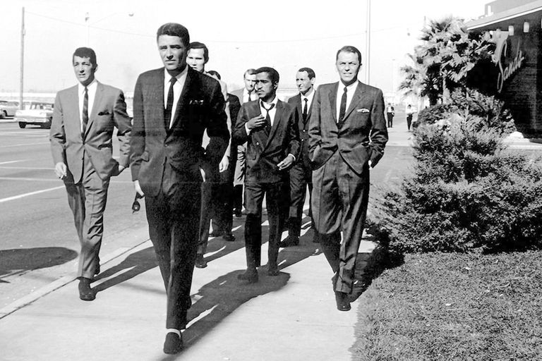 En Once a la medianoche coincidieron estrellas del Rat Pack como Frank Sinatra, Dean Martin, Peter Lawford y Sammy Davis Jr.