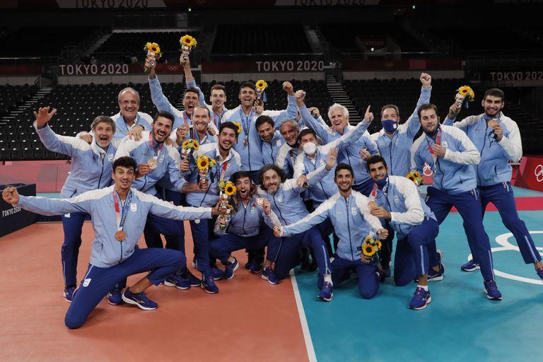 La alegría por el bronce: la selección dejó atrás los malos momentos para celebrar el tercer puesto en Tokio