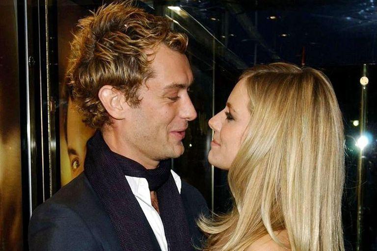 Sienna Miller y Jude Law, un amor que nació en el set y que después tuvo muchas idas y vueltas