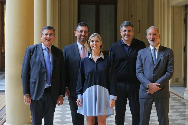 Juan Pedro Tunessi, Javier Herrera Blanco, Silvia Iacopetti, Fernando Bernabé Rocca y Martín Bömer: los representantes de la Red Nacional de Lenguaje Claro