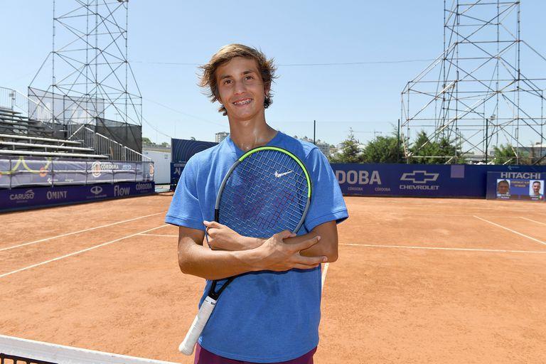 Nicolás Eli necesitaba ayuda para viajar y ahora sueña con el Grand Slam junior
