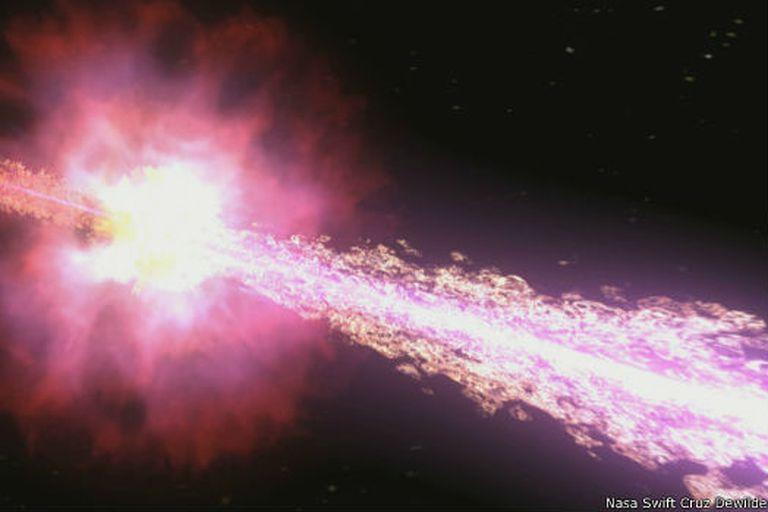 Se cree que la Tierra se encuentra en una zona de la Vía Lactea donde los estallidos de rayos gamma son infrecuentes