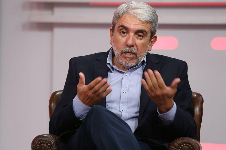 Aníbal Fernández en los estudios de LN+