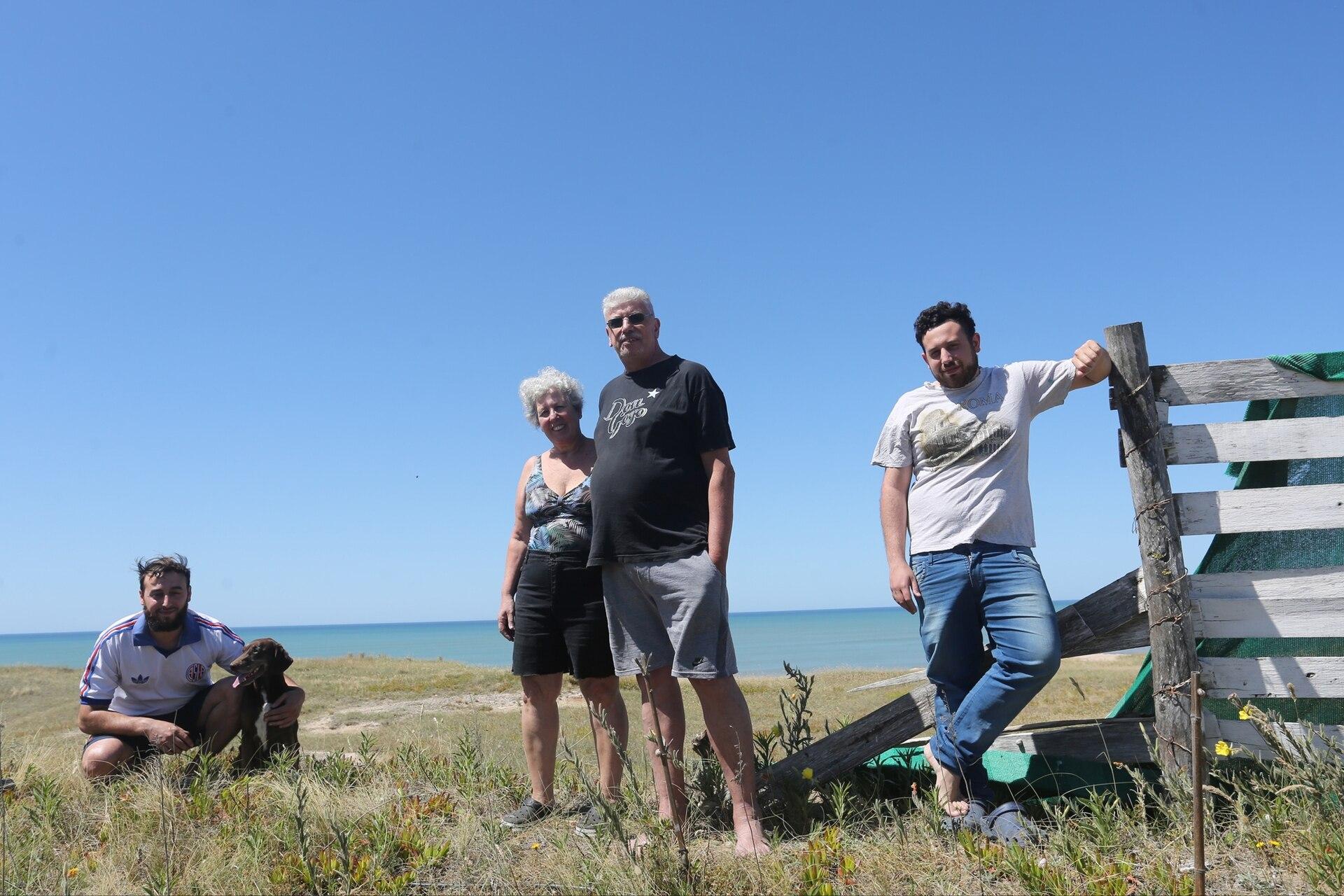 Tomás Estocopaz y Sonia Berdesio tienen su casa de verano en Centinela del Mar