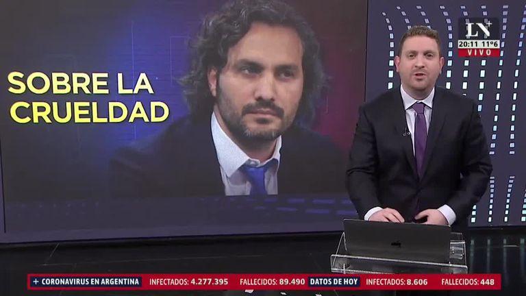 """Jony Viale a Cafiero: """"Cruel es ir al cementerio en lugar de festejar el día del padre"""""""