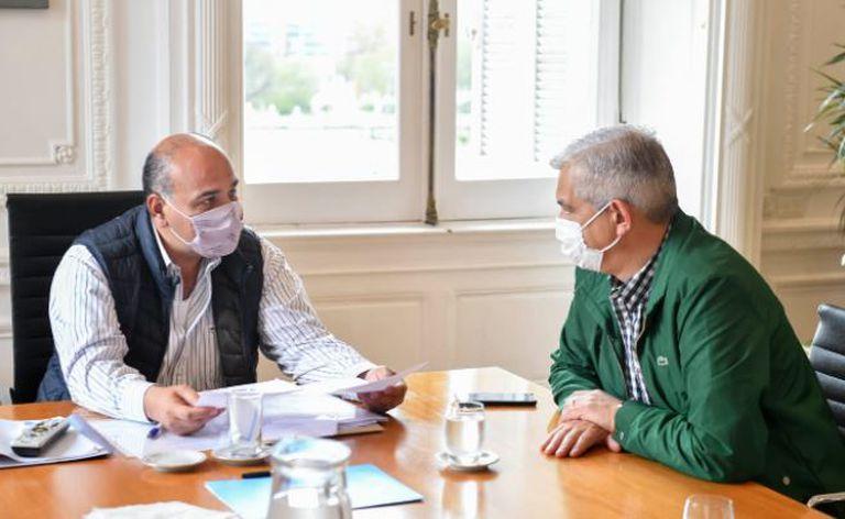 Manzur sigue con su papel protagónico y encabeza este sábado reuniones de gabinete en Casa Rosada