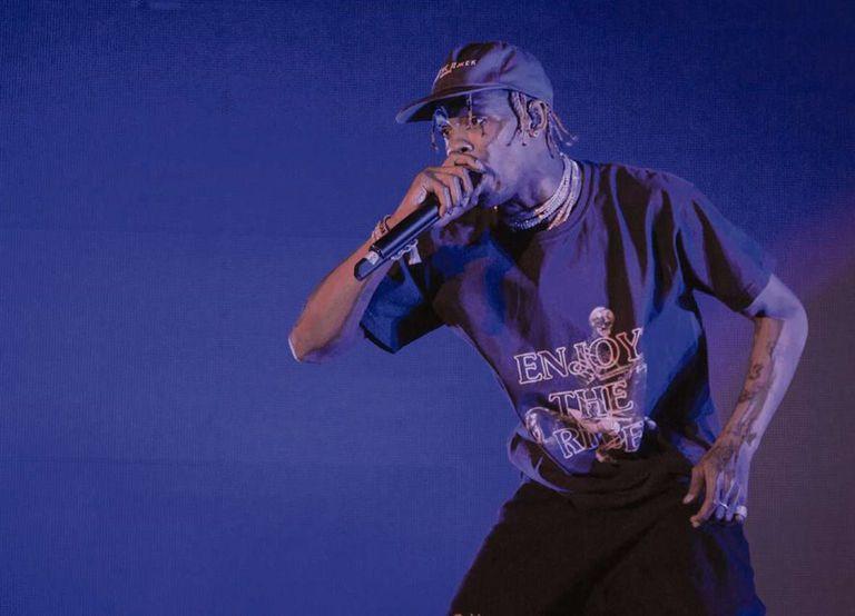 Travis Scott cruza hip hop y psicodelia en un disco sorprendente