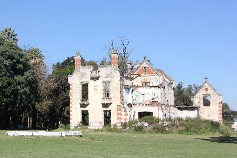 La mansión no puede ser recuperada