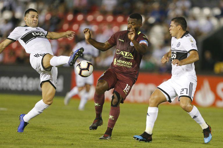 Godoy Cruz cayó frente a Olimpia y se complicó en la Copa Libertadores